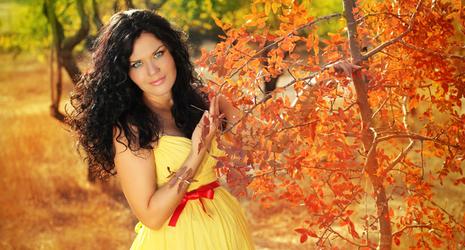 беременность осенью