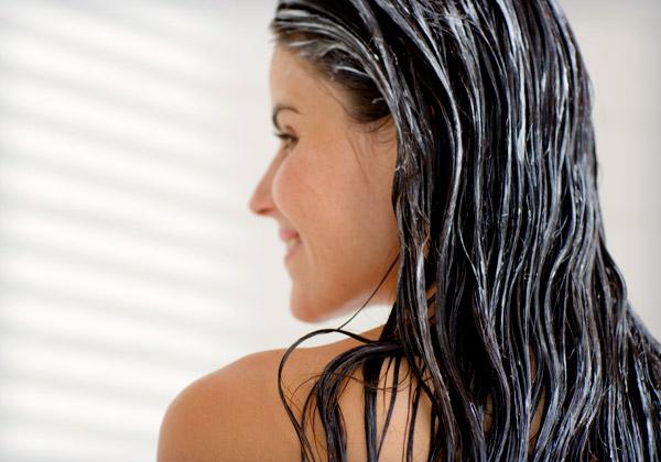 чистые волосы