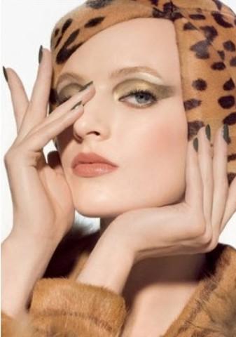 модный макияж осени 2013