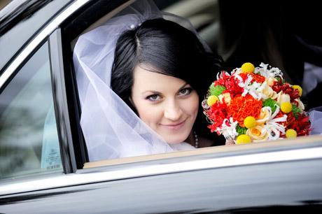 свадебный кортеж